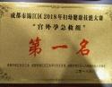 """荣获""""成都市锦江区2018年妇幼健康技能大赛宫外孕急救组第一名"""""""